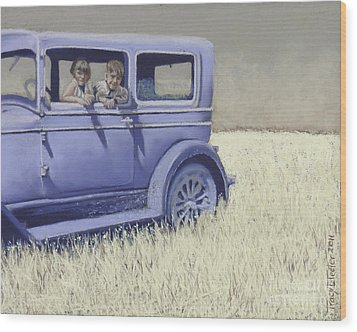 Summer Of '29 Wood Print by Tracy L Teeter