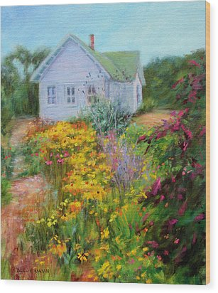 Summer Place- On The Outer Banks Wood Print