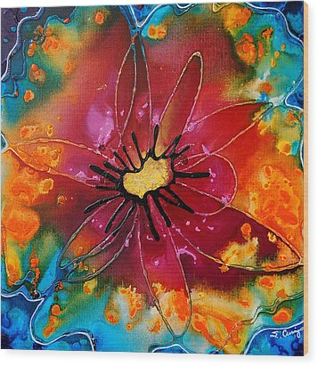 Summer Queen Wood Print by Sharon Cummings