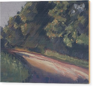 Summer Roads Wood Print