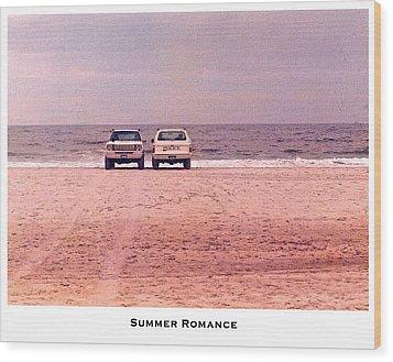 Summer Romance Wood Print by Lorenzo Laiken