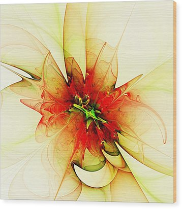 Summer Thoughts Wood Print by Anastasiya Malakhova