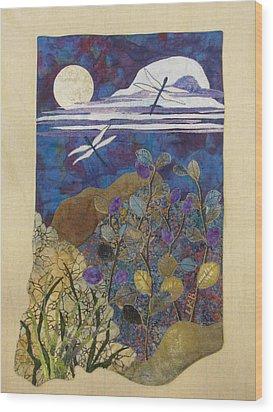 Summer Twilight Wood Print by Lynda K Boardman