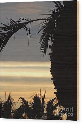 Summerlin Nv Sunset Wood Print