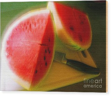 Summertime And The Living Is Easy Wood Print by James Temple