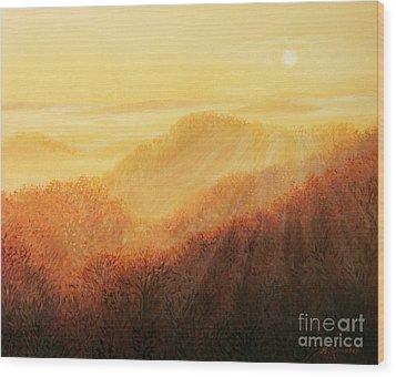 Sun Caress Wood Print by Kiril Stanchev