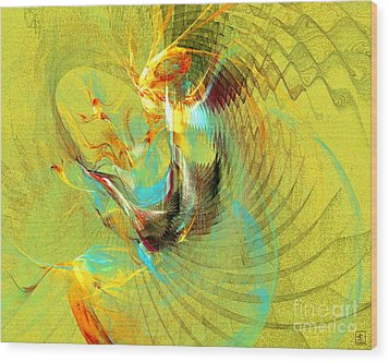 Sun Dancer Wood Print by Jeanne Liander