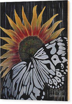 Sun-fly Wood Print