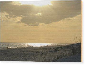Sun Rays Wood Print by Cynthia Guinn