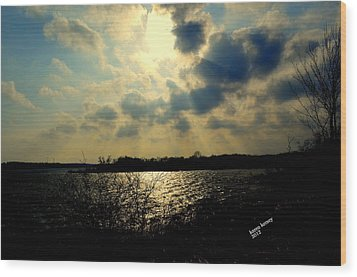 Sun Rays Wood Print