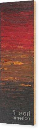 Sun Shade 1 Wood Print