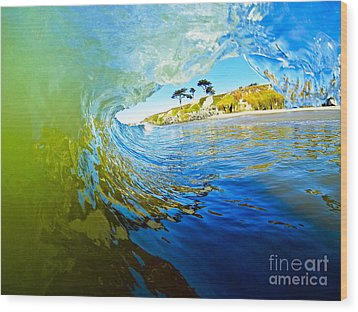 Wood Print featuring the photograph Sun Shade by Paul Topp