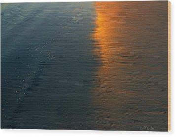 Sun Soaked Beach Wood Print by Heidi Smith