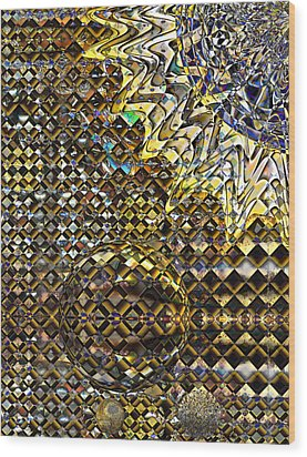 Sun Sparkle Wood Print by Constance Krejci
