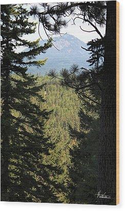 Suncadia Wood Print by Marti Green