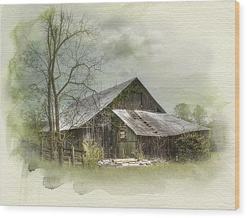 Sunday Drive Barn Wood Print