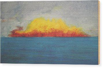 Sunfire Wood Print