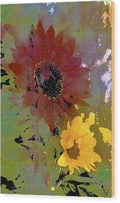 Sunflower 33 Wood Print