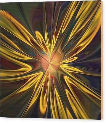 Sunglow Wood Print by Anastasiya Malakhova
