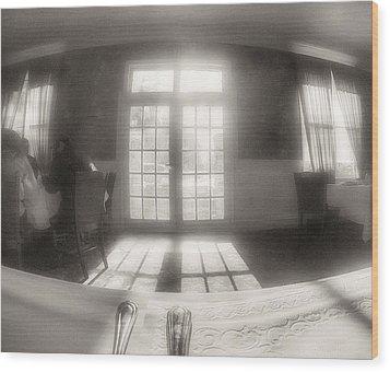 Sunlight Wood Print by J Riley Johnson