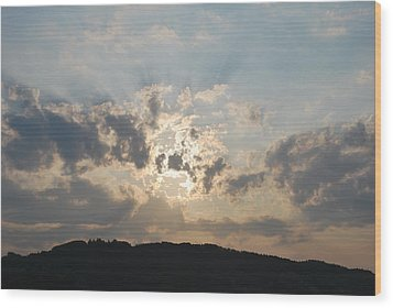 Wood Print featuring the photograph Sunrise 1 by George Katechis