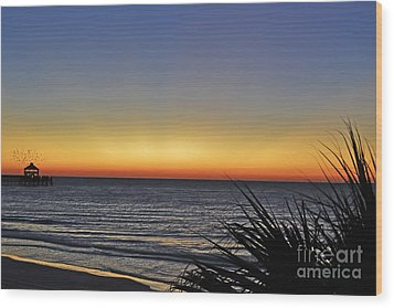 Sunrise At Folly Wood Print