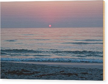Wood Print featuring the photograph Sunrise Blush by Julie Andel