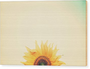 Sunrise Wood Print by Carrie Ann Grippo-Pike