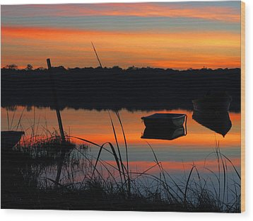 Wood Print featuring the photograph Sunrise Cove  by Dianne Cowen