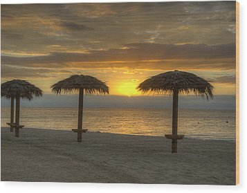 Sunrise Glory Wood Print