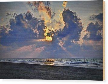 Sunrise... Hilton Head Island Wood Print