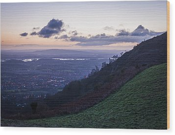 Sunrise In The Severn Valley Wood Print