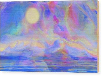 Sunrise Wood Print by Jack Zulli
