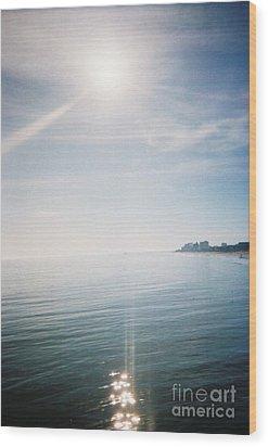 Sunrise Jan 1st Wood Print by Angelia Hodges Clay