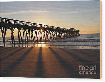 Sunrise Myrtle Beach State Park Wood Print