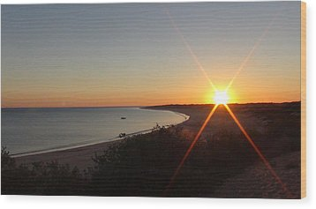 Sunrise Near Broome  Australia Wood Print