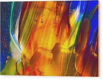 Sunrise Wood Print by Omaste Witkowski