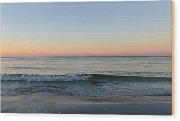 Sunrise On Alys Beach Wood Print