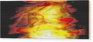Sunrise On The Steps Of Heaven Wood Print by Bruce Iorio