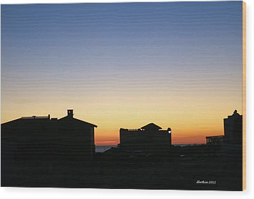 Wood Print featuring the photograph Sunrise Over Cortez by Dick Botkin