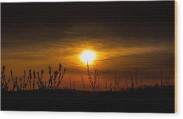 Daybreak At Gettysburg Wood Print