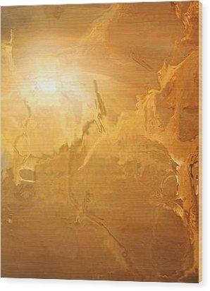 Sunrise Over The Dunes Wood Print by Kume Bryant