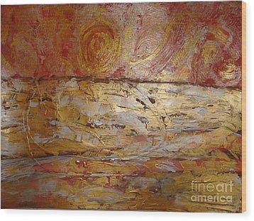 Sunrise. Pacific Ocean  Wood Print