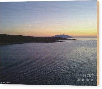 Wood Print featuring the photograph Sunrise by Ramona Matei