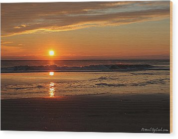 Sunrise Serenity Wood Print