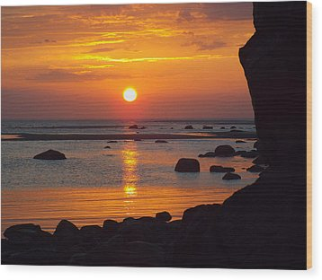 Wood Print featuring the photograph Sunrise Therapy by Dianne Cowen