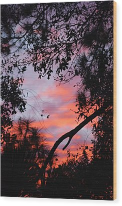 Sunset 16 Wood Print