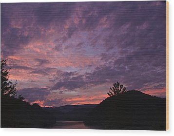 Sunset 2013 Wood Print by Tom Culver