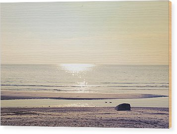 Sunset At Silver Wood Print
