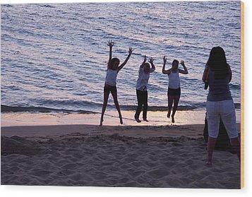 Sunset Dance Wood Print